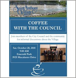 October Coffee with the council