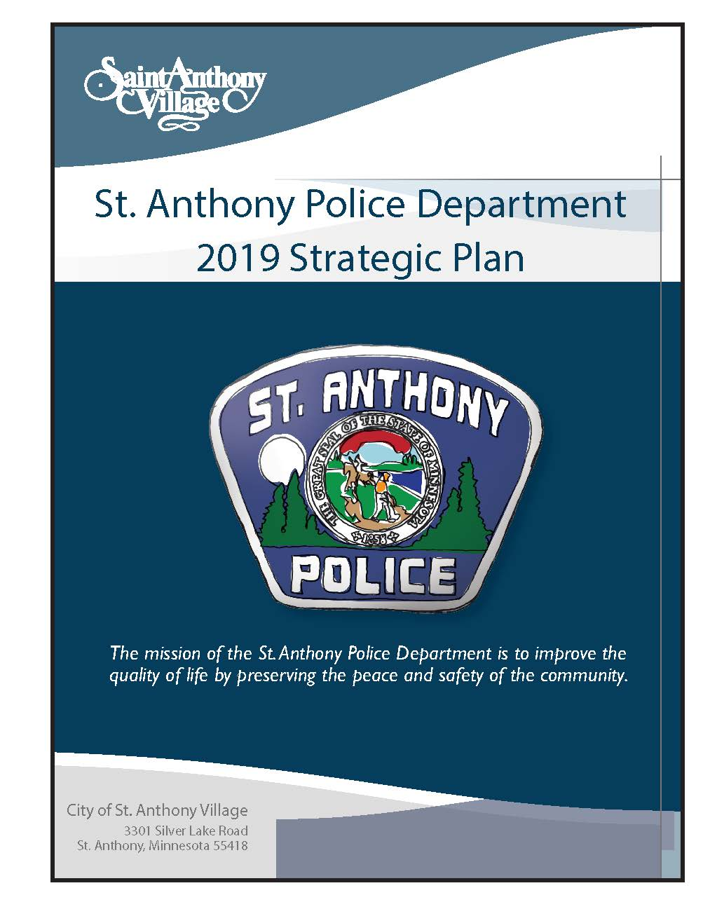 St. Anthony Police Department 2019 Strategic Plan