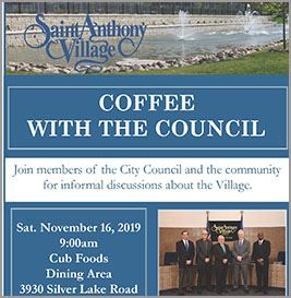 November 2019 Coffee with the Council newsflash