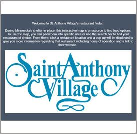 st. anthony restaurant finder