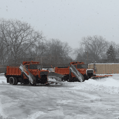 Sign up for snow plow alerts