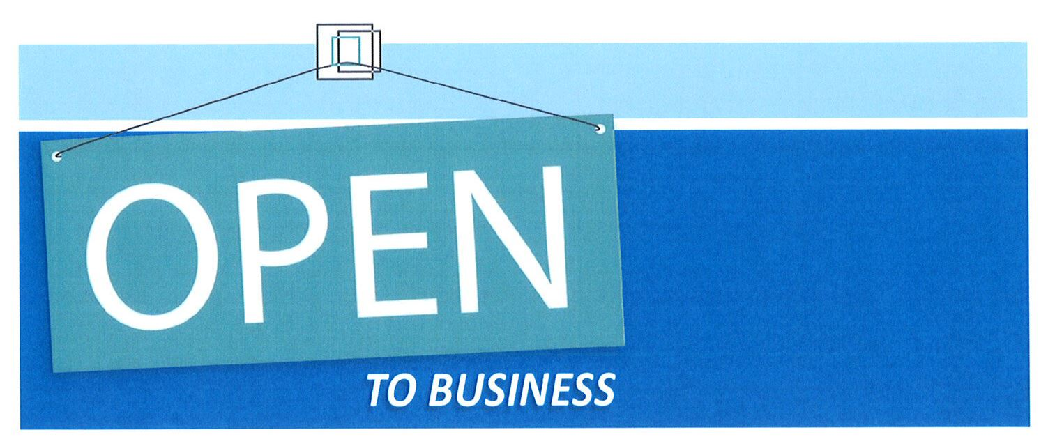 Open to Business Banner